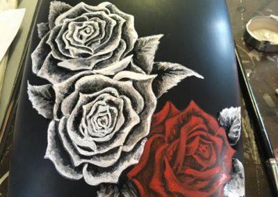peinture sur accessoires gland