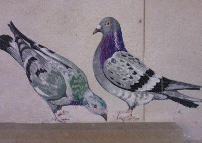 peinture decorative sur mur vaud